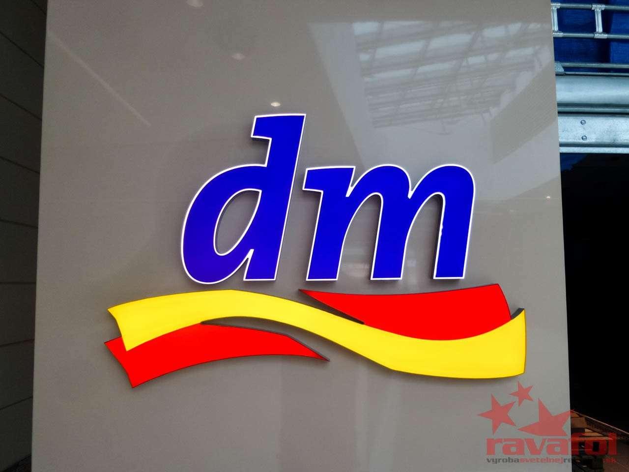 3d svetelné logo