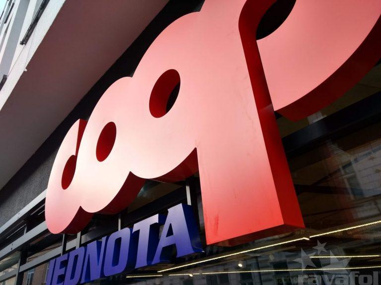 reklamné svetelné 3D logo