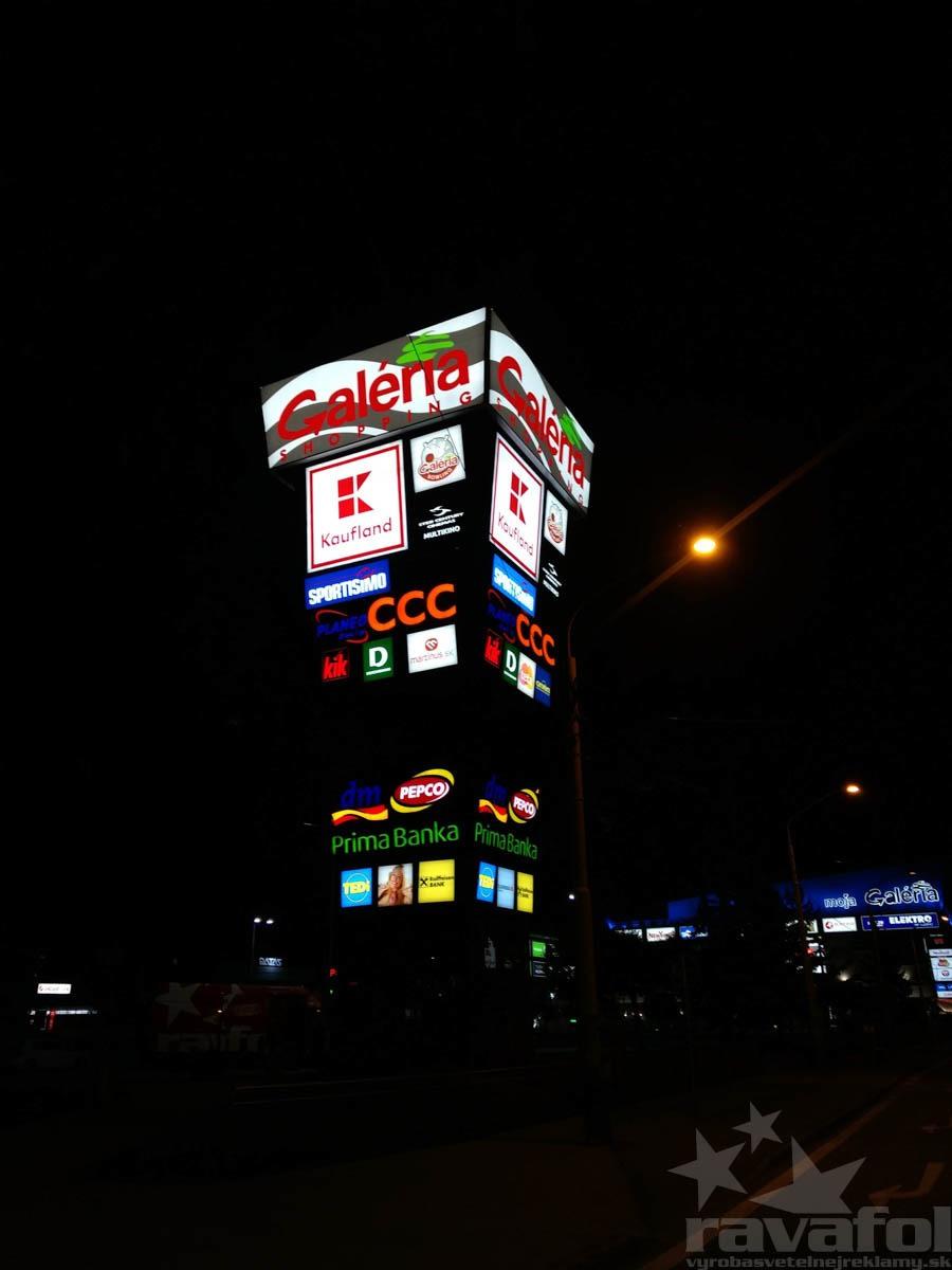 reklamný svetelný pylón